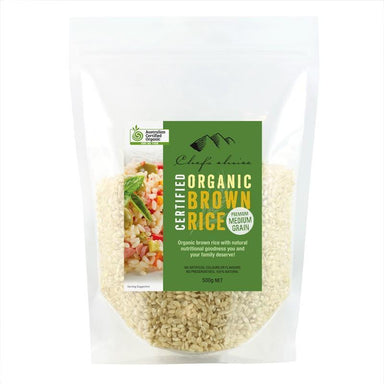 Chef's Choice Organic Brown Rice 500g-Chef's Choice-Fresh Connection