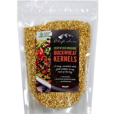 Chef's Choice Organic Buckwheat Kernels 500g-Chef's Choice-Fresh Connection