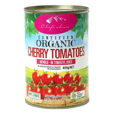 Chef's Choice Organic Cherry Tomatoes 400g-Chef's Choice-Fresh Connection