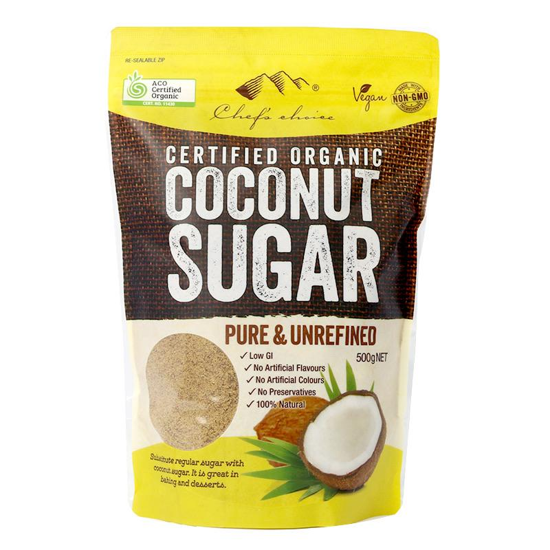 Chef's Choice Organic Coconut Sugar 500g-Groceries-Chef's Choice-Fresh Connection