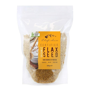 Chef's Choice Organic Flaxseed 500g-Chef's Choice-Fresh Connection