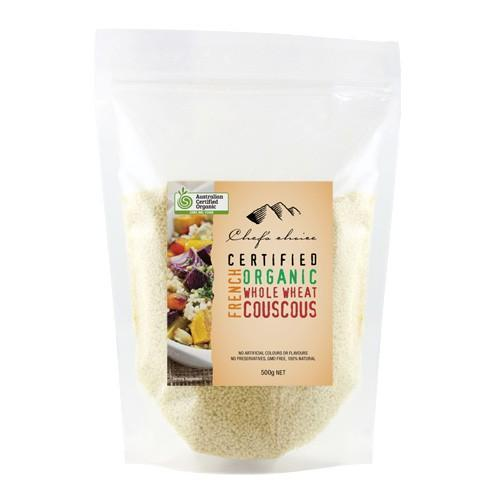 Chef's Choice Organic French Organic Whole Wheat Couscous 500g-Chef's Choice-Fresh Connection