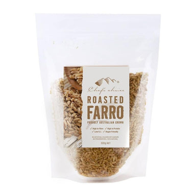Chef's Choice Roasted Farro 500g-Chef's Choice-Fresh Connection