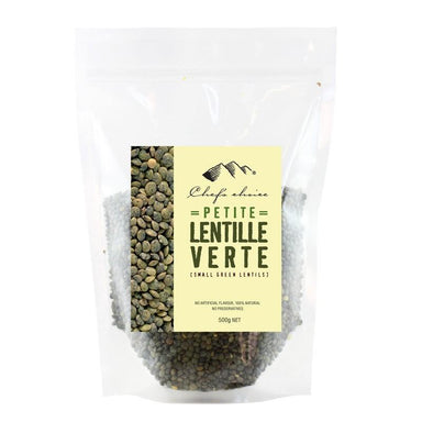 Chef's Choice Small Green Lentils 500g-Chef's Choice-Fresh Connection