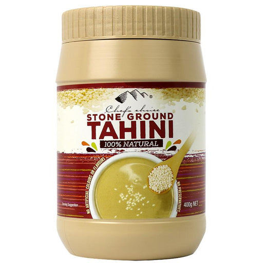 Chef's Choice Stone Ground Tahini 400g-Groceries-Chef's Choice-Fresh Connection