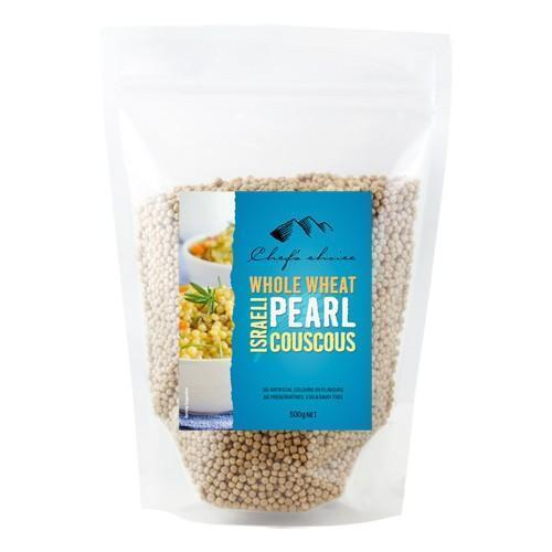 Chef's Choice Whole Wheat Israeli Pearl Couscous 500g-Chef's Choice-Fresh Connection