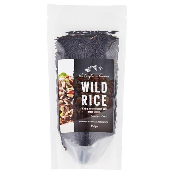 Chef's Choice Wild Rice 150g-Chef's Choice-Fresh Connection