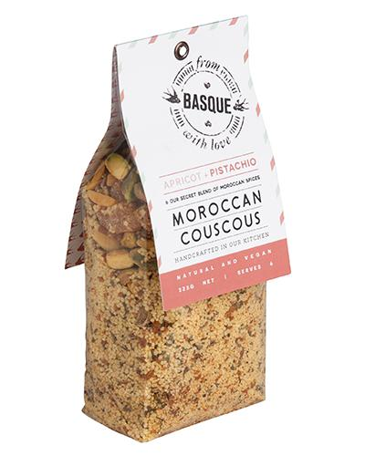 From Basque with Love Moroccan Couscous Apricot Postachio-Groceries-From Basque with Love-Fresh Connection