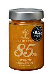 Geodi 85% Orange Pure Marmalade 250g-Geodi-Fresh Connection