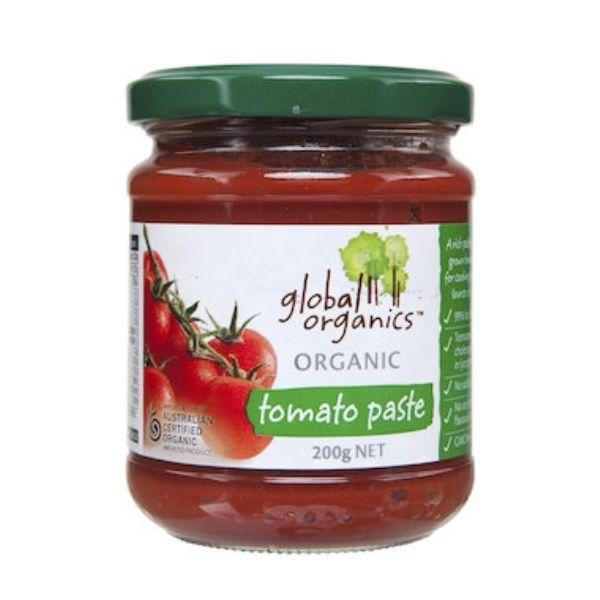 Global Organics Organic Tomato Paste 200g-Fresh Connection-Fresh Connection