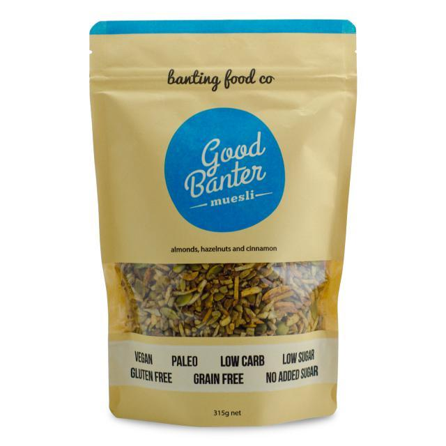 Good Banter Muesli 315g-Banting Food Co-Fresh Connection