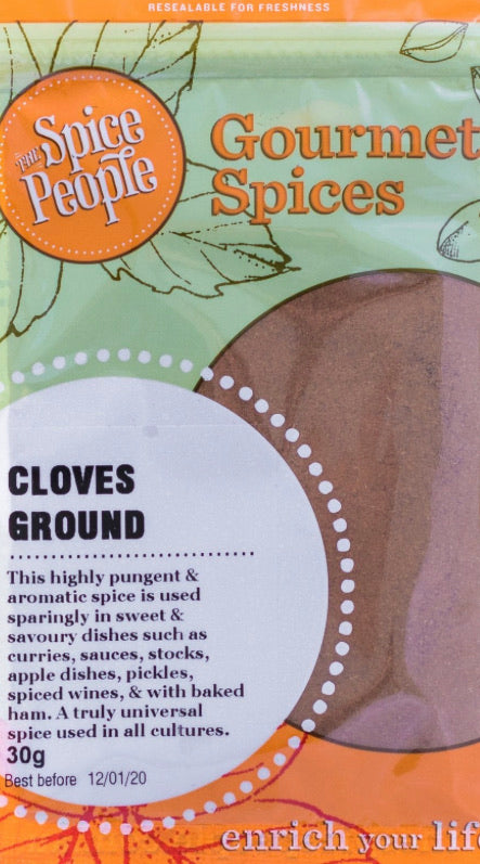 The Spice People Cloves Ground 30g