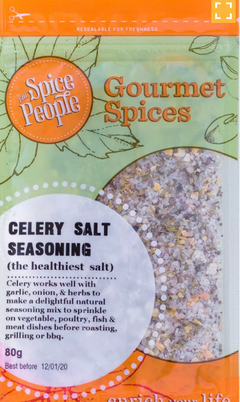 The Spice People Celery Salt Seasoning 55g Fresh Connection