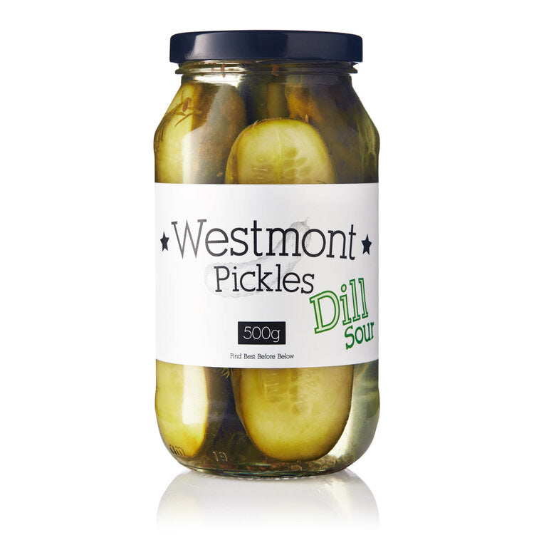 Westmont Dill Sour Pickles 500g