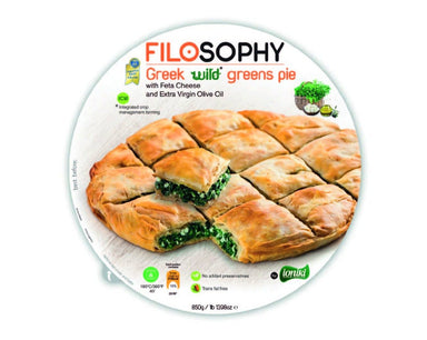 Ioniki FiloSophy Greek Wild Greens Pie 850g-Groceries-Ioniki FiloSophy-Fresh Connection