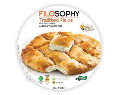 Ioniki FiloSophy Traditional Filo Pie with Feta Cheese 850g-Groceries-Ioniki FiloSophy-Fresh Connection