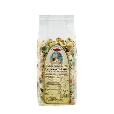 La Genuina Orecchiette Tricolori 500g-La Genuina-Fresh Connection