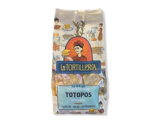 La Tortilleria Totopos Corn Chips 200g-Groceries-La Tortilleria-Fresh Connection