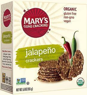 Mary's Gone Crackers Jalapeno 155g-Mary's Gone Crackers-Fresh Connection