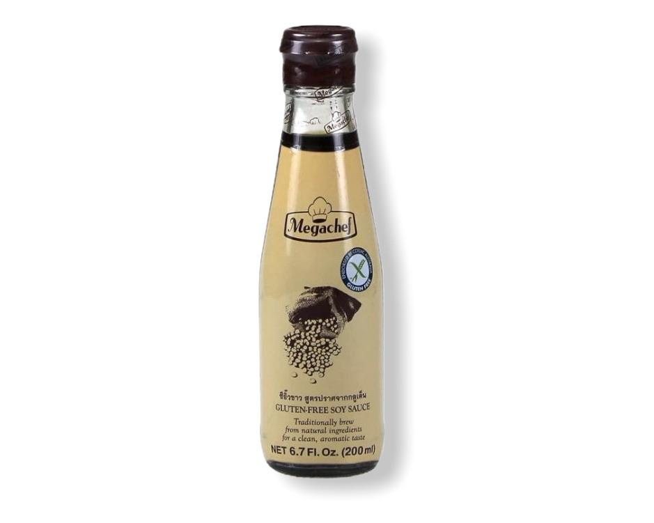 Mega Chef Gluten Free Soy Sauce 200mL-Groceries-Mega Chef Premium-Fresh Connection