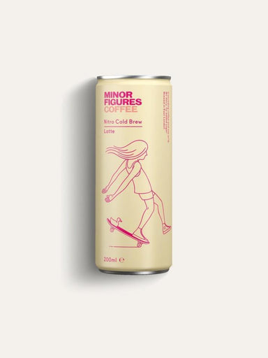 MINOR FIGURES Cold Brew Latte 200ml-Groceries-Minor Figures-Fresh Connection