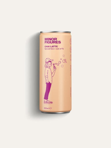 MINOR FIGURES Nitro Infused Chai Latte 200ml-Groceries-Minor Figures-Fresh Connection