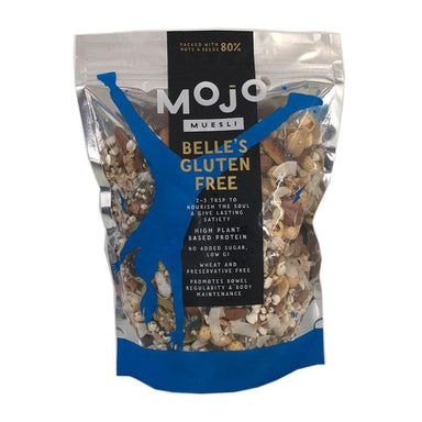 MOJO MUESLI Belle's Gluten Free Muesli 1kg-MOJO Muesli-Fresh Connection