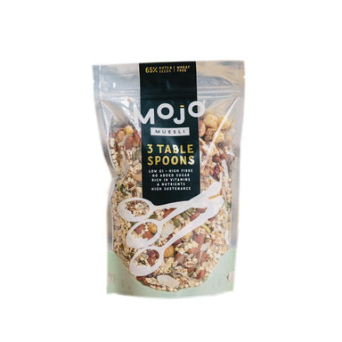 MOJO MUESLI Three Table Spoons 500g-MOJO Muesli-Fresh Connection