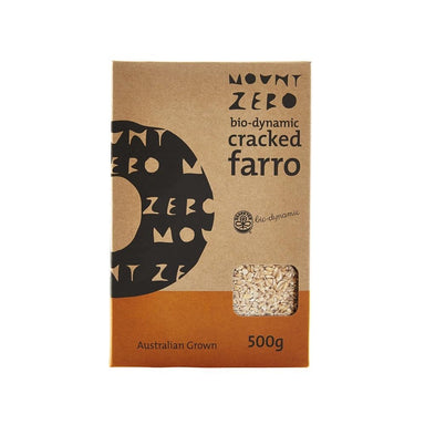 Mount Zero Biodynamic Cracked Farro 500g-Groceries-Mount Zero-Fresh Connection