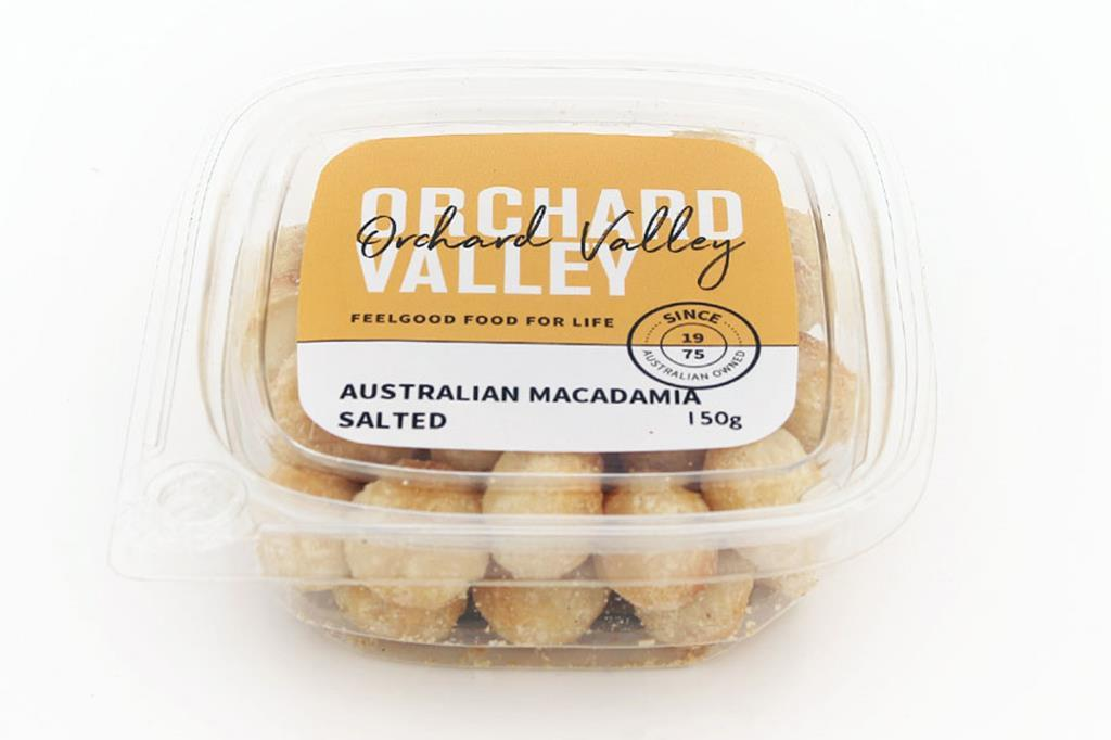 Orchard Valley Australian Macadamia Salted 150g-Groceries-Orchard Valley-Fresh Connection