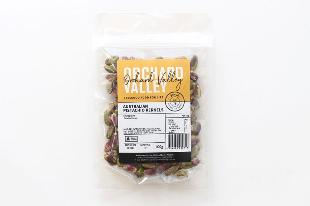 Orchard Valley Australian Pistachio Kernels 100g-Groceries-Orchard Valley-Fresh Connection