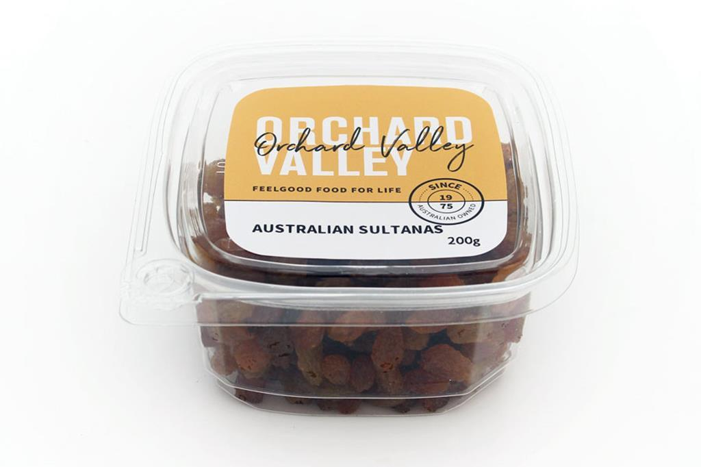Orchard Valley Australian Sultanas 200g-Groceries-Orchard Valley-Fresh Connection