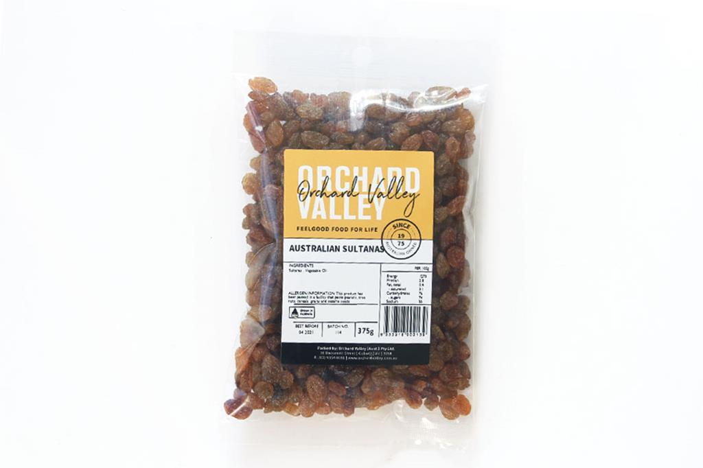 Orchard Valley Australian Sultanas 375g-Groceries-Orchard Valley-Fresh Connection