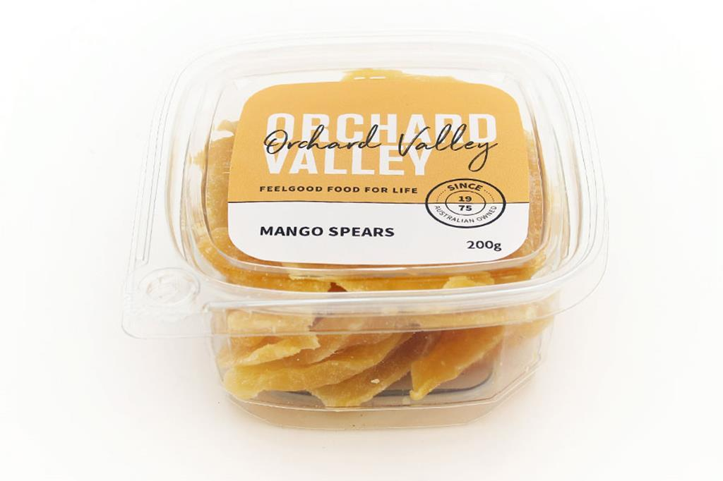 Orchard Valley Mango Spears 200g-Groceries-Orchard Valley-Fresh Connection