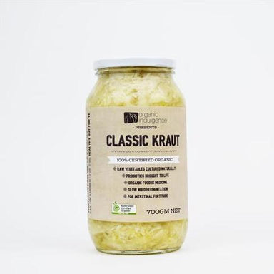 Organic Indulgence Classic Kraut 700g-Organic Indulgence-Fresh Connection
