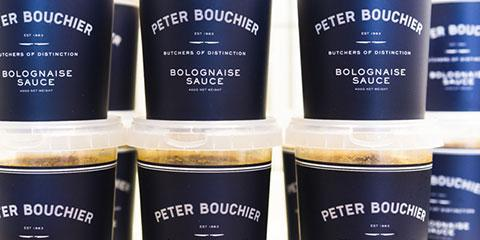 Peter Bouchier Grass Fed Beef Bolognaise Sauce (400g Tub) ONLINE ONLY