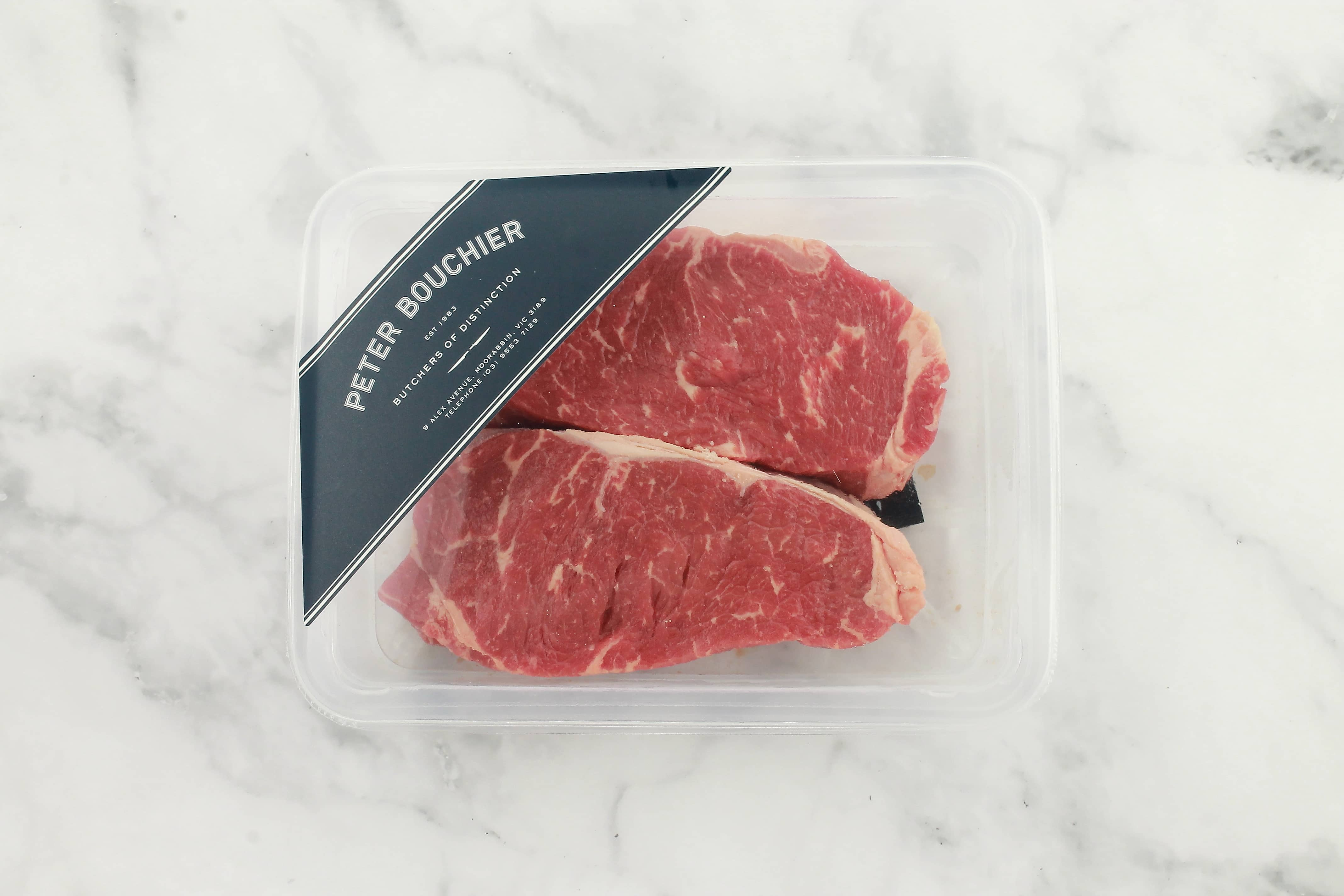 Peter Bouchier Porterhouse Steak - Grass Fed (2 pieces) ONLINE ONLY
