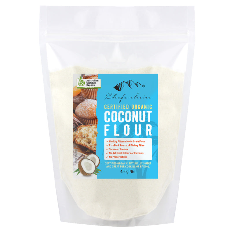 Certified Organic Coconut Flour 500g