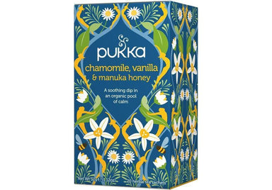 Pukka Chamomile, Vanilla & Manuka Honey Tea 32g-Pukka-Fresh Connection