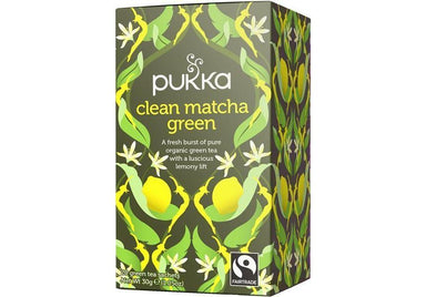 Pukka Clean Matcha Green Tea 30g-Pukka-Fresh Connection
