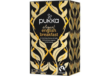 Pukka Elegant English Breakfast Tea 50g-Pukka-Fresh Connection