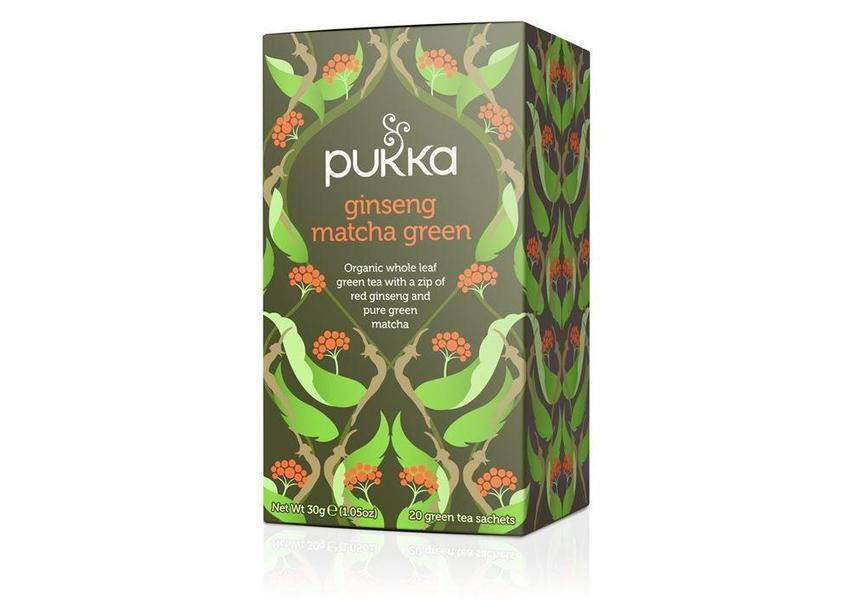 Pukka Ginseng Matcha Green Tea 30g-Pukka-Fresh Connection
