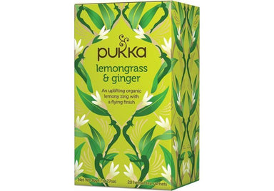 Pukka Lemongrass & Ginger Tea 36g-Pukka-Fresh Connection