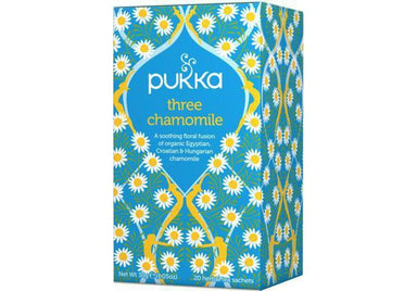 Pukka Three Chamomile Tea 30g-Pukka-Fresh Connection