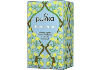 Pukka Three Fennel 36g-Pukka-Fresh Connection