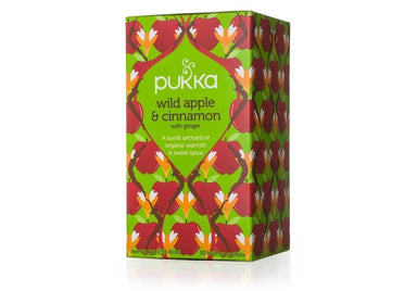 Pukka Wild Apple & Cinnamon Tea 40g-Pukka-Fresh Connection