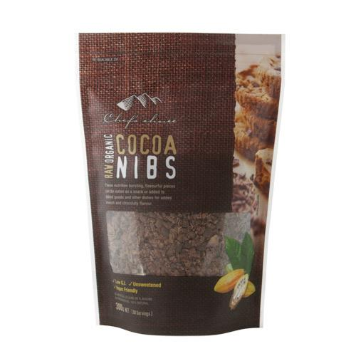 Raw Organic Cocoa Nibs 300g-Groceries-Chef's Choice-Fresh Connection