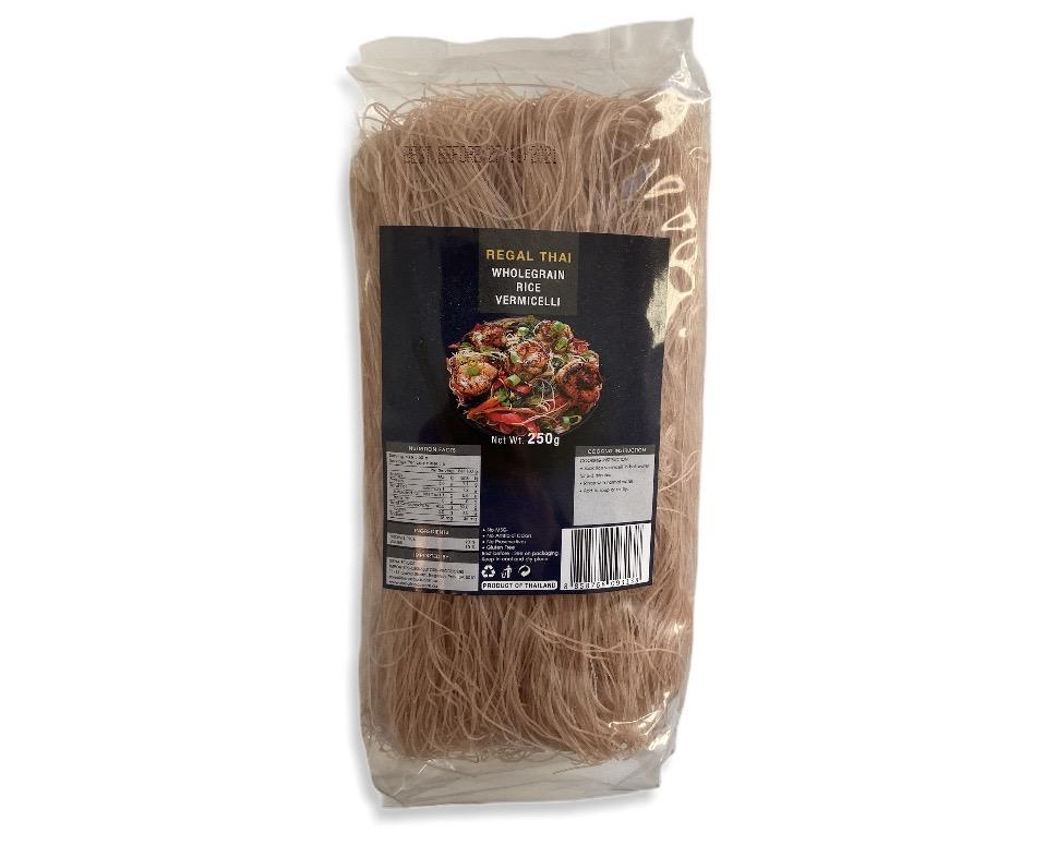 Regal Thai Wholegrain Rice Vermicelli 250g-Groceries-Regal Thai-Fresh Connection