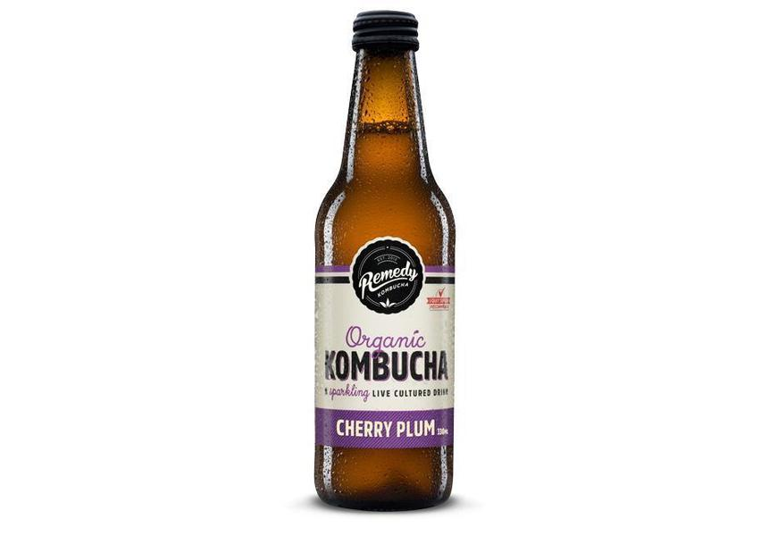 Remedy Kombucha Cherry Plum 330mL-Remedy Kombucha-Fresh Connection