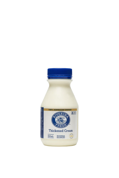 Riverina Fresh Thickened Cream 250ml-Groceries-Riverina-Fresh Connection